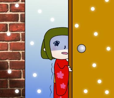 03お外は寒いよ