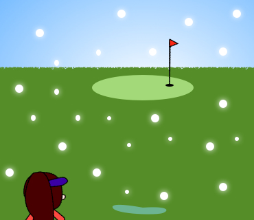 09冬のゴルフ