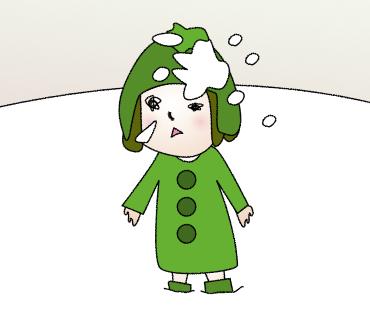 06雪玉をぶつけっれたゴル子
