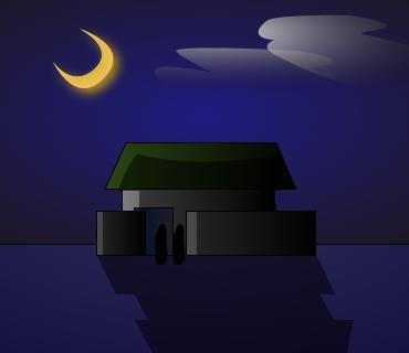良い夜と良いプロの良い家