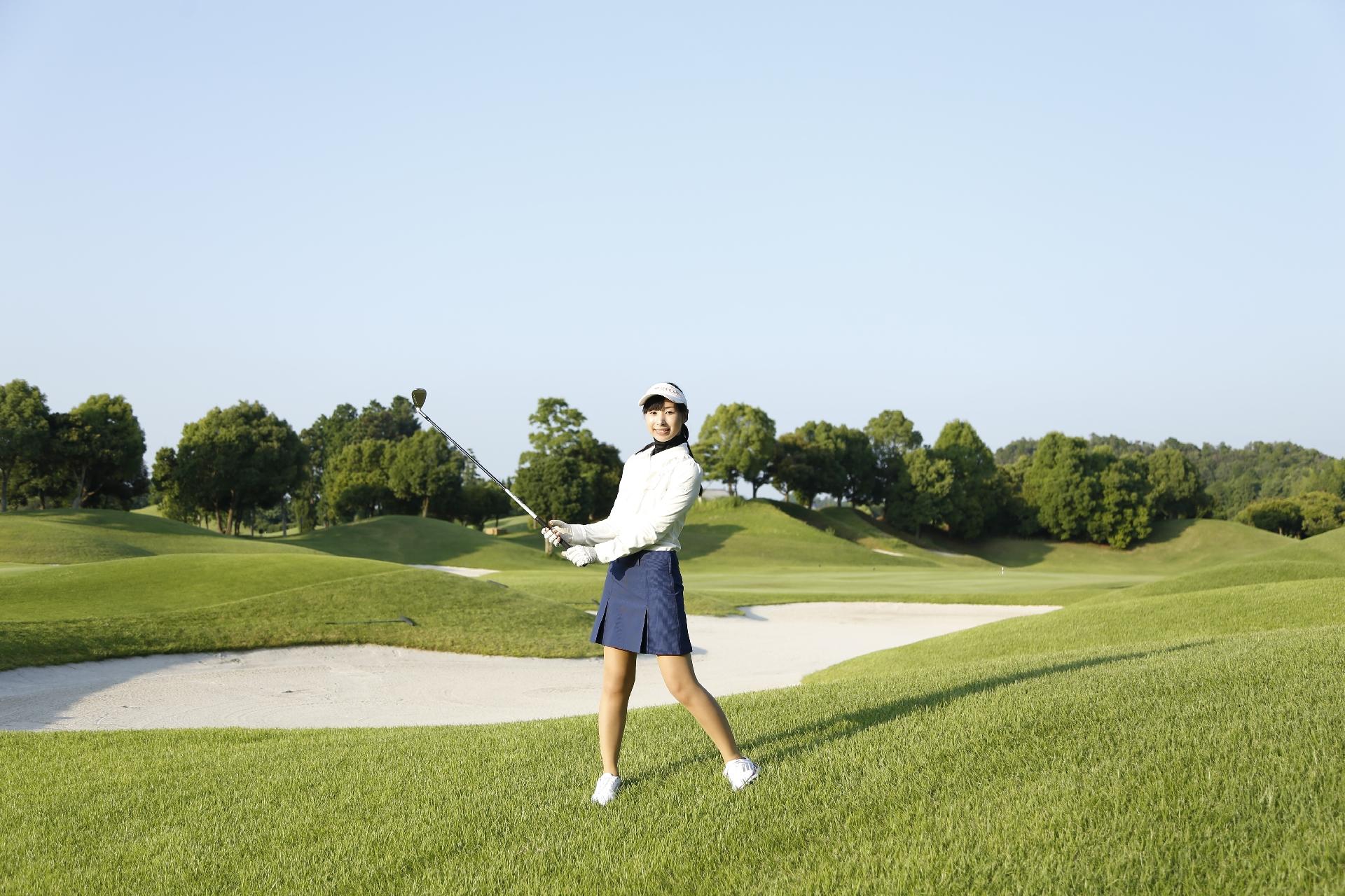 女子 ゴルフ 可愛い