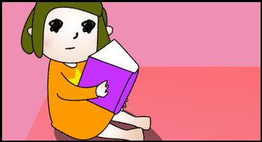 09読んでるゴル子