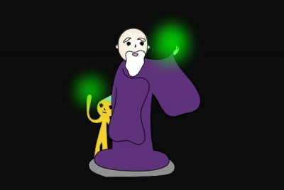 09おじーさんの魔法